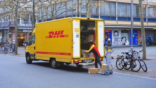 DHL liefert zukünftig auch Abends.