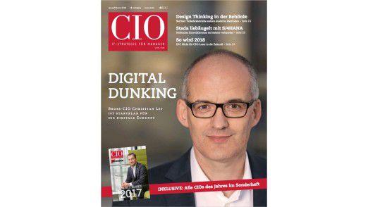 Das neue CIO-Magazin Januar/Februar 2018.
