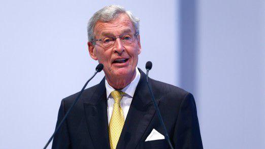 Gerhard Cromme legt den Aufsichtsratsvorsitz von Siemens nieder.