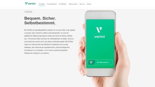 Mit Verimi sollen Kunden jederzeit die volle Kontrolle über ihre persönlichen Daten behalten können.