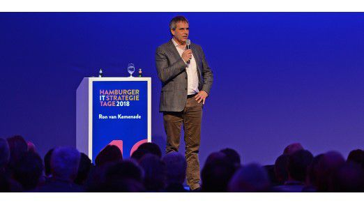 ING-Bank CIO Ron van Kemenade auf den Hamburger IT-Strategietagen.