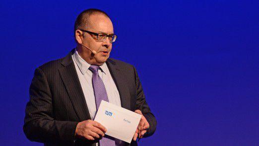 Helmut Krcmar vom Lehrstuhl Wirtschaftsinformatik der TU München sprach auf den Hamburger IT-Strategietagen 2018.