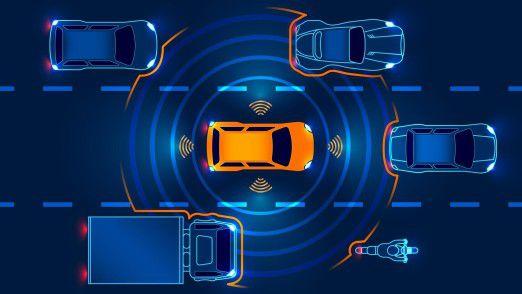Vodafone sieht für sich im autonomen Fahren einen riesigen Markt.