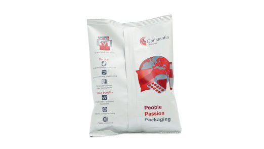 Solche Flowpack Verpackungen können dem Kunden eine Vielzahl von Informationen zur Verfügung stellen.