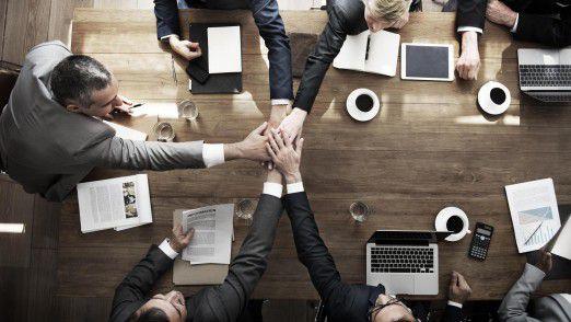 Unternehmen müssen ihren Mitarbeitern heute ermöglichen, abteilungsübergreifend zu kooperieren, und das sicher und compliant.