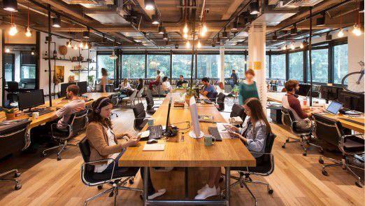 Coworking Space von Mindspace.