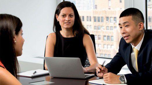 Kundengespräch bei Randstad. 600 IT-Anwendungen sind jetzt in der AWS-Cloud.