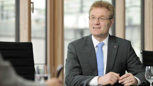 Jan Wicke ist CIO bei der Talanx Versicherung.