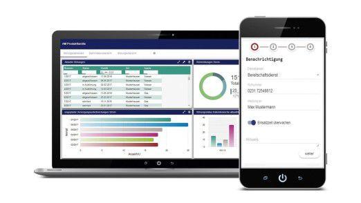 Responsive Design und mobile first: Neue Software für Instandhaltung und Asset-Management.