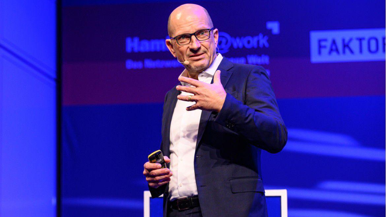 CIO Marcus Frantz sprach auf den Hamburger IT-Strategietagen 2020.