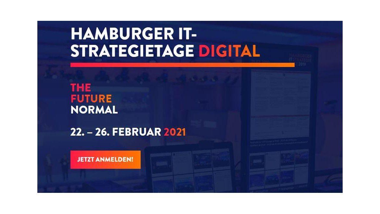 Die Hamburger IT-Strategietage starten im Februar 2021 erstmals als komplett digitale Veranstaltung. Für die Teilnehmer gibt es zahlreiche Möglichkeiten zum Networking.