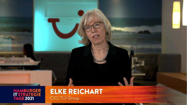 """TUI-CDO Elke Reichart auf den Hamburger IT-Strategietagen: """"Sobald Reisen wieder möglich ist, wollen wir unseren Kunden Innovationen bringen."""""""