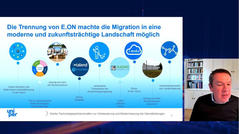 Die Trennung von E.ON machte die Migration in eine moderne und zukunftsträchtige IT-Landschaft möglich, so Uniper CIO Damian Bunyan.
