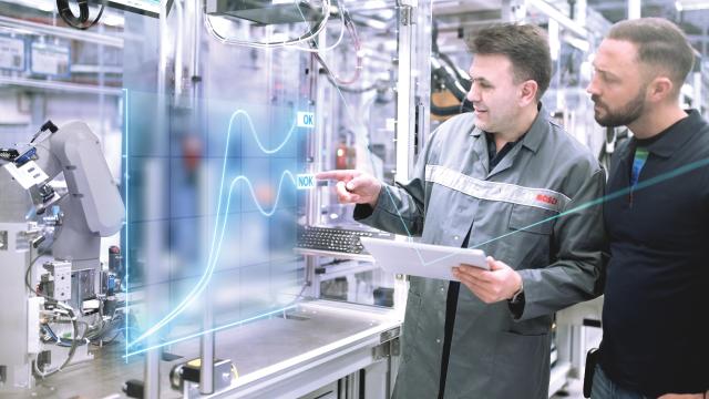 Industrie 4.0 soll jährlich eine Milliarde Umsatz bringen: Bosch setzt auf vernetzte Produktion und Logistik