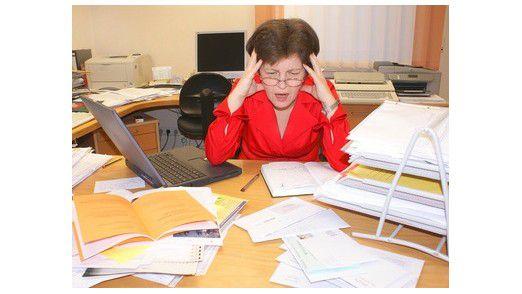 Viele sind schon mit dem Managen des eigenen Schreibtischs überfordert.