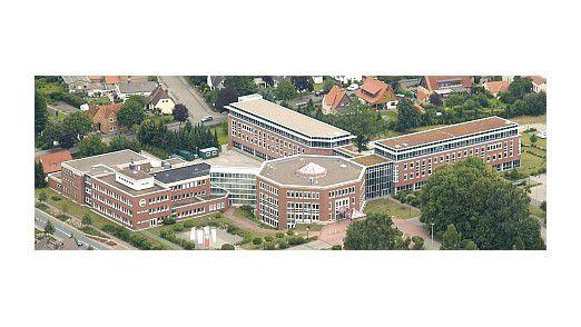 Die Hagebau-Zentrale in Soltau.