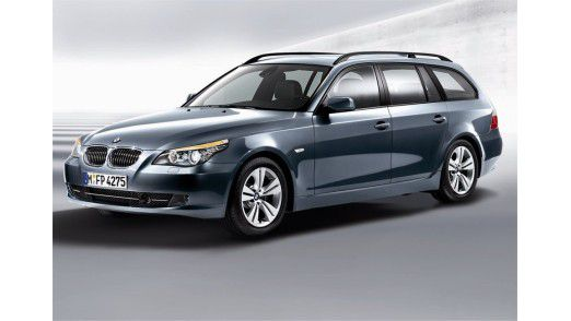 Der 5er von BMW fährt in der Beliebtheitsskala vorn mit.
