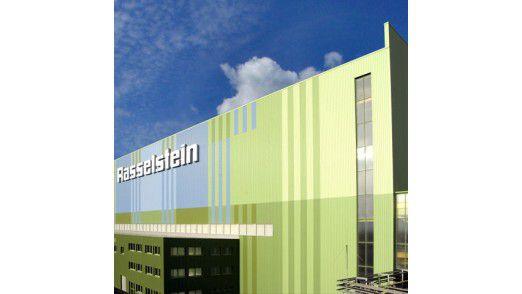 Rasselstein in Andernach am Rhein, Produktionshalle.