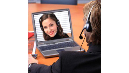 Wenn sie die Wahl zwischen persönlichem und virtuellem Treffen haben, entscheiden sich nur zwei Prozent der Führungskräfte für eine Videokonferenz.