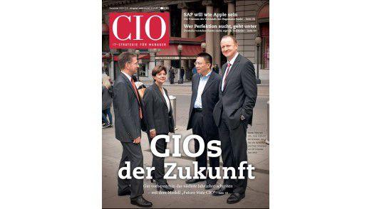 Die neue Dezember-Ausgabe des CIO-Magazins.