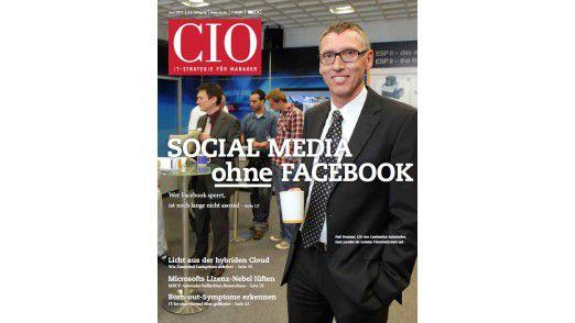 Die neue Juni-Ausgabe vom CIO-Magazin.