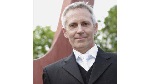 """CIO Peter Meyerhans von Drees & Sommer: """"irgendwo einsam""""."""