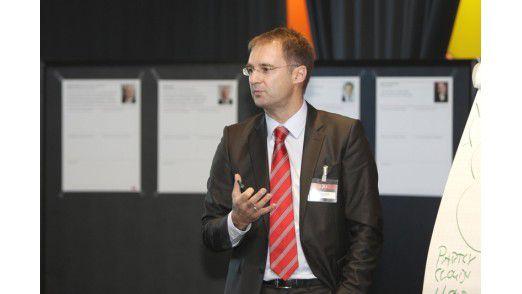 Wettkönig Sven Lorenz: Der CIO von Porsche erhielt mit 66 Stimmen den größten Zuspruch für seine Cloud-Wette.