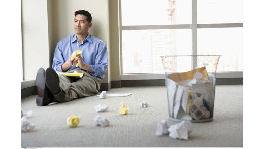 Viele Wissensarbeiter fühlen sich ausgebremst und frustriert.