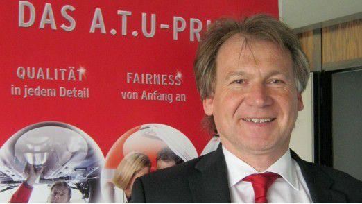 Setzt auf Prävention: A.T.U-CIO Klaus Vogl.