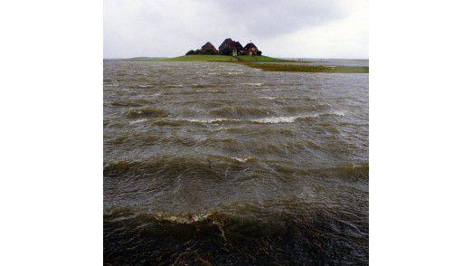 Inseln und Halligen in der Nordsee wachsen zusammen. Im Juli 2013 war das Gesamtprojekt zur Hälfte umgesetzt. Am Ende will der Betreiber Lünecom rund 700 Verträge abschließen. Auch die Hallig Hooge wird angeschlossen. Sie ist die zweitgrößte der zehn Halligen im Schleswig-Holsteinischen Wattenmeer. Auf ihr leben 110 Personen.