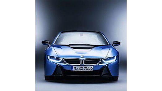 Mit Hilfe von vorausschauender Datenanalyse sollen Fehler entdeckt und behoben werden, bevor sie überhaupt in Serienwagen wie beispielsweise dem BMW i8 (Foto) auftauchen.