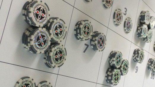 Bei der Münchner IT-Beratung MaibornWolff priorisieren die Mitarbeiter ihre Projektanforderungen in einer Planungsrunde mittels Poker-Chips.