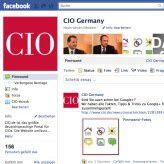 Die Seite des CIO-Magazins bei Facebook - auch ein Schritt zur Anpassung an Consumer IT: Laut IDC gilt es, diesen Trend zu nutzen, nicht zu verdammen.