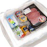 Beim Lebensmitteltransport bis an die Haustür kommt es auch auf geeignete Verpackungen an. Der Online-Shop myTime liefert in Köln zusammen mit DHL in Styropor-Kartons.