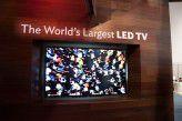 Der weltgrößte LED-Fernseher - natürlich mit 4K-Auflösung.