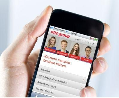Die Hamburger Otto Group hat ihr mobiles Recruitment überarbeitet.
