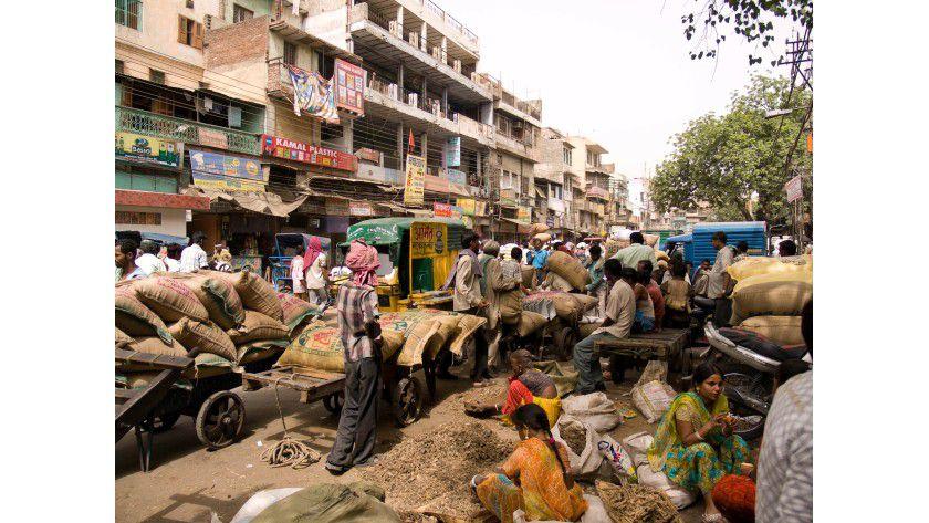 Sightseeing ade: Um Indien selbst kennenzulernen, bleibt während des IT-Trainings kaum Zeit.