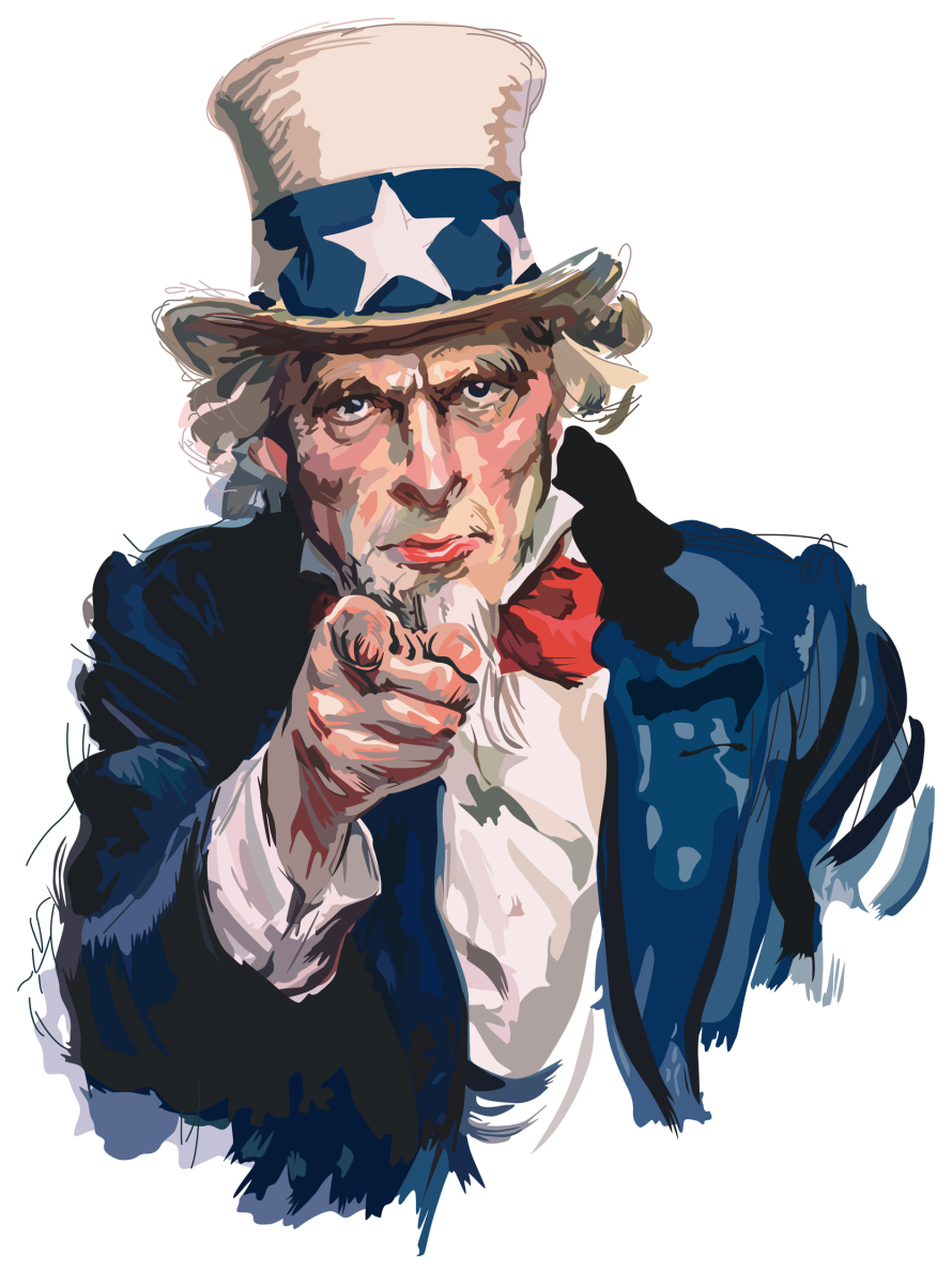 Bild: Uncle Sam i want you for the us army (