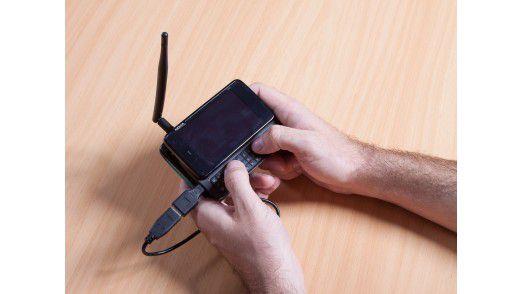 """Wer das Nokia N900 ein wenig """"tunt"""", kann viel Unsinn damit anstellen."""