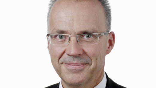 CIO Thomas Schott von der Rehau AG, einem Kunststoffverarbeiter