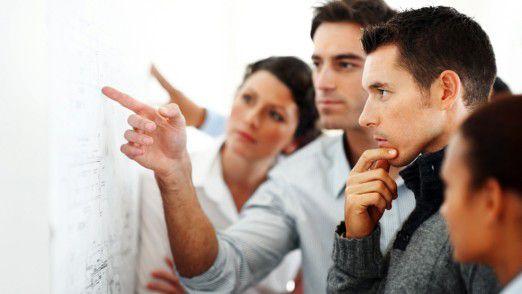 Insgesamt 35 Prozent der befragten ITler berichten von Spannungen unter Kollegen.
