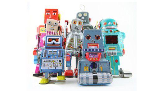 Helfen immer öfter auch beim IT Service Management, töten aber nicht gleich das Offshoring: Software Robotics.