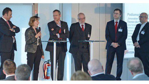 Lebhafte Diskussionen beim Sourcing Day 2013.