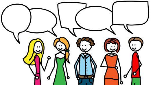 Wer mit Fremden ins Gespräch kommen will, sollte einige Regeln beachten.