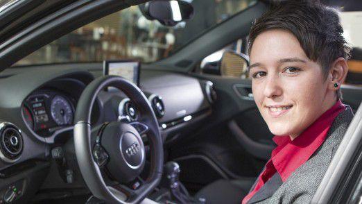 """Julia Wimmer, Audi: """"Wir stehen erst am Anfang der digitalen Dienste im Auto und des vernetzten Fahrens."""""""