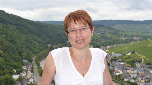 """Ulrike Vater studiert seit einigen Jahren an der Hochschule Darmstadt und schreibt nun ihre Master-Arbeit: """"Ich habe das Studium entzerrt. Ein Stress-Studium mit mehreren Vorlesungen pro Woche war für mich nicht möglich."""""""