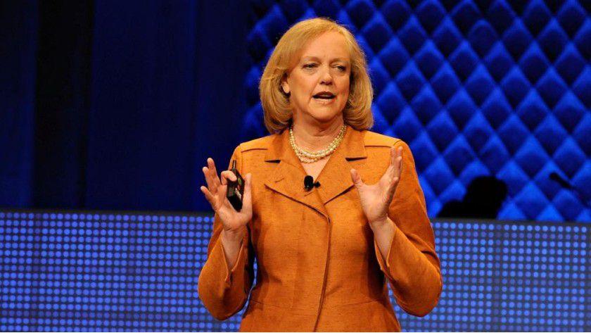 HP-Chefin Meg Whitman: HP investriert rund ine Milliarde Dollar in die Cloud.