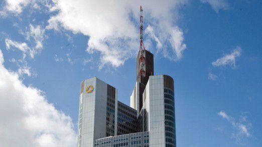 Die Commerzbank-Zentrale in Frankfurt