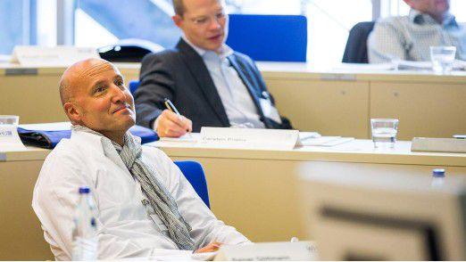 Rainer Göttmann, CEO von Metafinanz, nutzt das Seminar, um seinen Horizont zu erweitern und sein Netzwerk zu vergrößern.
