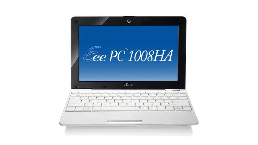 Leichtgewicht: Das Netbook Asus Eee PC 1008HA. (Quelle: Asus)